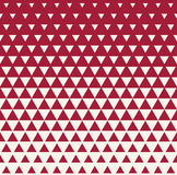 Abstract geometric red graphic design print triangle halftone pattern Stock Photos