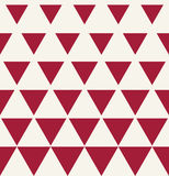 Abstract geometric red graphic design print triangle halftone pattern Stock Photography