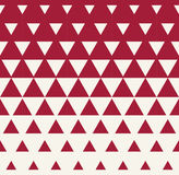 Abstract geometric red graphic design print triangle halftone pattern Royalty Free Stock Photos