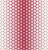 Abstract geometric red graphic design triangle halftone pattern Royalty Free Stock Photo