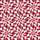 Abstract geometric red graphic design unique pattern background Royalty Free Stock Photography