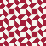 Abstract geometric red graphic design unique pattern background Royalty Free Stock Photos