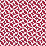 Abstract geometric red hipster fashion pillow stars pattern background Royalty Free Stock Image