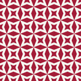 Abstract geometric red hipster fashion pillow stars pattern Stock Photography