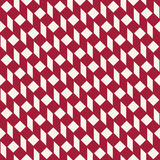 Abstract geometric red minimal graphic design print checkered pattern Stock Photos