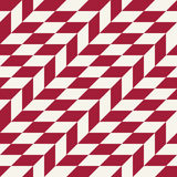 Abstract geometric red minimal graphic design print checkered pattern Royalty Free Stock Images