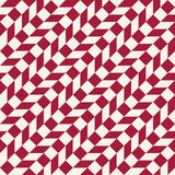 Abstract geometric red minimal graphic design print checkered pattern Stock Image
