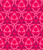 Abstract geometric red pink seamless pattern Royalty Free Stock Images