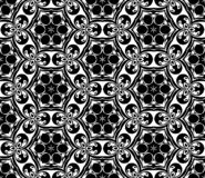 Abstract geometric repeating pattern in vector format stock image