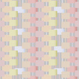 Abstract geometric retro pastel seamless pattern background Royalty Free Stock Photo