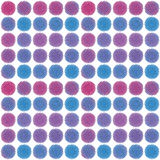 Abstract geometric retro pattern seamless. Polka Stock Photos