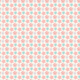 Abstract geometric retro star seamless pattern Royalty Free Stock Image