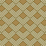 Abstract geometric ribbon pattern seamless background. Vector illustration Royalty Free Stock Photo