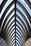 Abstract geometric roof royalty free stock images