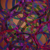 Abstract geometric round background Stock Photo