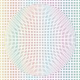 Abstract Geometric Round Dots Sphere Globe Colorful Patten Backg. Abstract Geometric Round Dots Sphere Globe Colorful Pattern Texture Background stock illustration