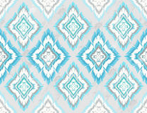 Abstract geometric seamless aztec pattern Royalty Free Stock Photo