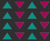 Abstract geometric seamless background with arrows Stock Image