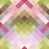Abstract geometric seamless background in cute colors. Vector illustration Royalty Free Stock Images