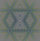 Seamless regular diamond pattern silver gray green blue purple blurred. Abstract geometric seamless background. Modern regular diamond pattern in silver gray Royalty Free Stock Image