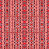 Regular diamond pattern red brown violet vertically Royalty Free Stock Photography