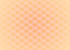 Seamless regular dots diagonally yellow orange pink blurred and shiny. Abstract geometric seamless background. Regular dots diagonally yellow orange on pink Stock Image