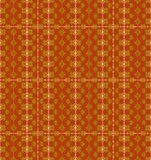 Seamless diamond pattern gold red brown Royalty Free Stock Images
