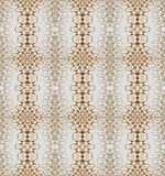 Seamless regular triangle pattern ocher brown silver gray. Abstract geometric seamless background. Regular triangle pattern ocher brown and silver gray on light Royalty Free Stock Images
