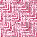 Regular seamless zigzag pattern red violet pink white diagonally. Abstract geometric seamless background. Regular zigzag pattern red, violet, pink and white Stock Image