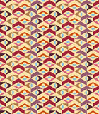 Abstract geometric seamless background - vector Royalty Free Stock Photos