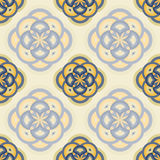 Abstract geometric seamless background. Abstract geometric seamless wallpaper pattern.Vector illustration Royalty Free Stock Photos