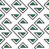 Abstract geometric seamless fashion design Stock Photography