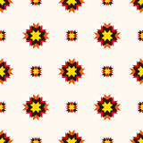 Abstract geometric seamless ornament pattern. Stock Photo