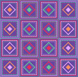 Abstract geometric seamless ornamental pattern. Stock Images
