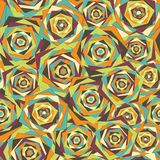 Abstract geometric seamless pattern Royalty Free Stock Photos