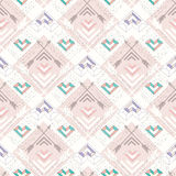 Abstract geometric seamless pattern stock illustration