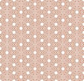 Abstract geometric seamless pattern. With repeating triangles. 2d illustrationn Stock Photography