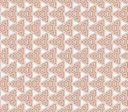 Abstract geometric seamless pattern. With repeating triangles. 2d illustrationn Royalty Free Stock Photos