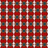 Abstract geometric seamless pattern. Vector eps 10 Stock Photo