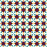 Abstract geometric seamless pattern Stock Photos