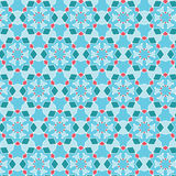 Abstract Geometric seamless pattern. Royalty Free Stock Photo