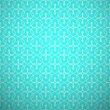 Abstract geometric seamless pattern. Aqua and Stock Image