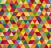 Abstract Geometric Seamless Pattern Background With Colorful Triangles. Abstract Geometric Seamless Pattern With Colorful Triangles vector illustration
