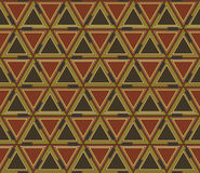 Abstract geometric seamless pattern, background. Graphic mosaic of colored triangles. Geometrical seamless pattern consisting of triangular elements. Useful as Royalty Free Stock Image