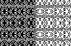 Abstract geometric seamless pattern background Royalty Free Stock Photo