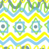 Abstract geometric seamless pattern. Background with transparenc Royalty Free Stock Images