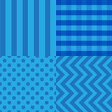 Abstract geometric seamless pattern background. Vector illustration Royalty Free Stock Image