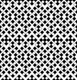 Abstract Geometric Seamless Pattern from Black and Royalty Free Stock Photography