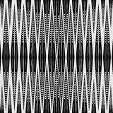 Abstract geometric seamless pattern. Black and white pattern . Stock Image