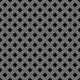 Abstract geometric seamless pattern in black and white, vector. Design, industrial. stock illustration